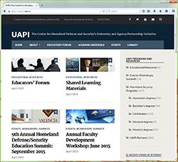 UAPI website