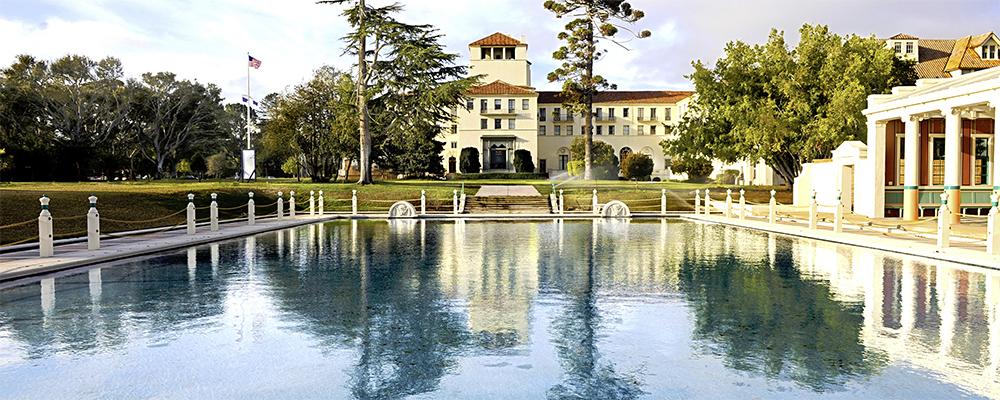 reflecting pool at NPS