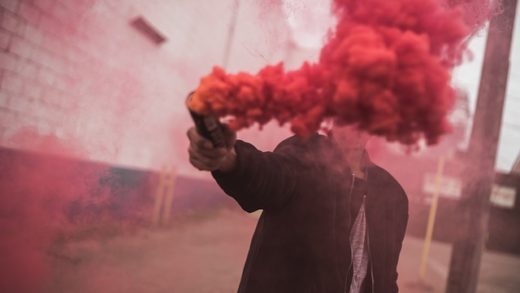 red smoke image